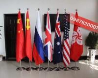 In thêu Hoàng Gia – Chuyên in logo , slogan cờ công ty giá rẻ tại Hà Nội