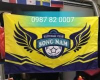 In logo cờ công ty theo yêu cầu
