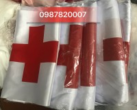 Cờ chữ thập đỏ in theo yêu cầu