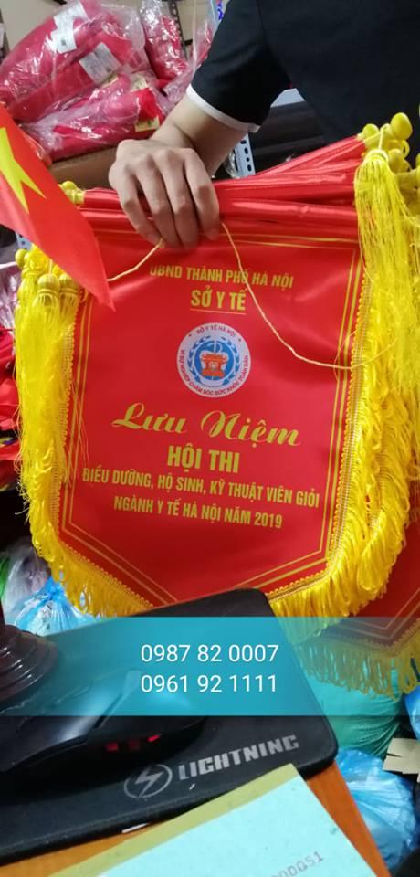 In cờ lưu niệm theo yêu cầu uy tín tại Hà Nội