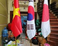 Cột cờ inox văn phòng